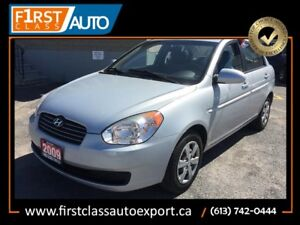 2009 Hyundai Accent - Great On Gas - LOW MILEAGE!!!