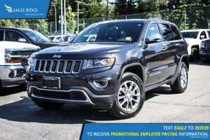 2016 Jeep Grand Cherokee Limited Backup Camera and Sunroof