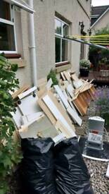 Scrap metal rubbish uplifts house garage shed clearance