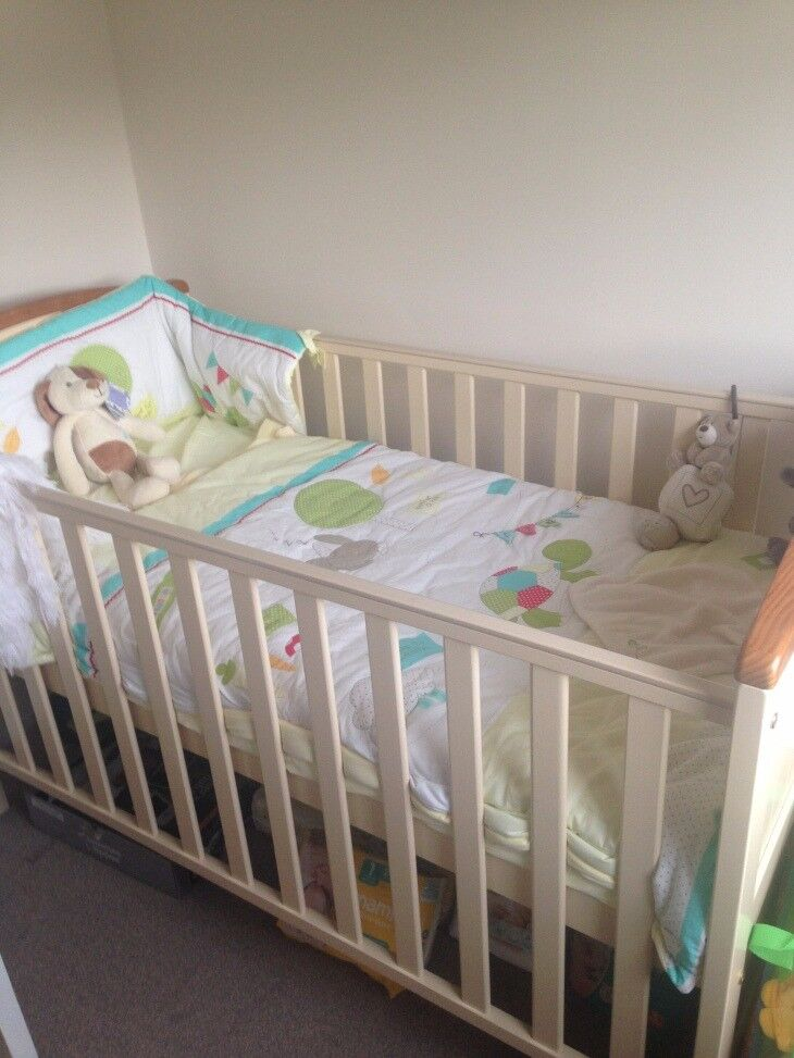 Toys R Us Hip Ay Cot Bed Set With Curtains And Light Shade