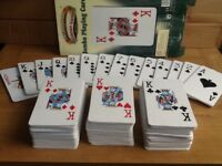Jumbo foam playing cards (ha ha ha)