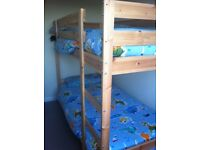 BUNK BED (MYDAL IKEA) WITH 2 FOAM MATTRESS (MALFORS IKEA) ONLY 120GBP... URGENT... SPECIAL OFFER