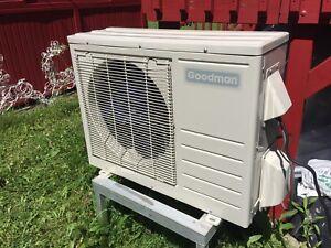 Je vends mon climatiseur Goodmans 12 000 btu install inclus
