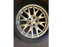 Tyre plus alloy wheel