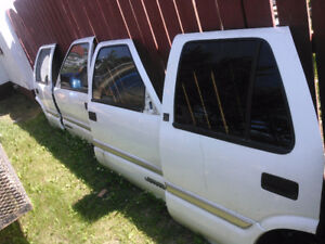 For Sale 4-White Jimmy Doors $255.00 obo