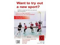 FREE Beginners Sessions for a social, fun, mixed gender sport