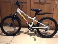 "Boys 20"" Apollo Wham Bike . 2 years old. Needs rear brake pads."