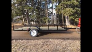 Brand New Quad / Utility / Boat Trailers. 0 Miles!!