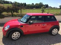 Red Mini One for sale excellent condition
