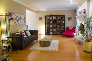 Gorgeous FURNISHED River Heights 4 bed/2bath home