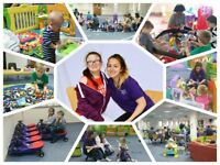 Children's play-worker, supporting children with additional needs and their siblings in play.