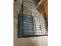 Small Dog / Puppy cage - cage is 62 cm long x 51 cm height