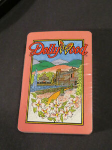 DOLLYWOOD playing cards NOW $2