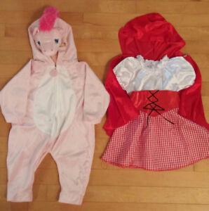 Costume Halloween fille 12 mois