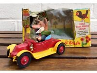 CORGI COMICS -BASIL BRUSH AND HIS CAR No. 808- VINTAGE MODEL VEHICLE -BOXED- not DINKY