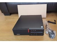 Brand New Unboxed Lenovo ThinkCentre M800 SFF Quad Core i5-6500 4GB 500GB Desktop PC DVDRW