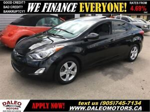 2013 Hyundai Elantra GLS | SUN ROOF | HEATED SEATS | BLUETOOTH