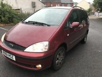 2001 Ford Galaxy zetec AUTOMATIC Long mot service history hpi clear BARGAIN!!!!