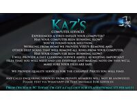 Kaz's Computer Cleaning & Virus Removal
