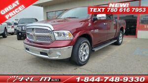 2017 Ram 1500 Laramie ALMOST NEW NAVIGATION HEATED/COOLED SEATS