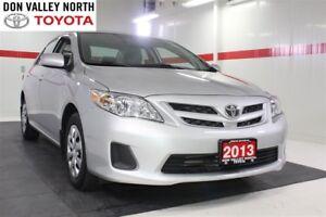 2013 Toyota Corolla ENHANCED CONVENIENCE PKG Btooth Pwr Wndws Mi