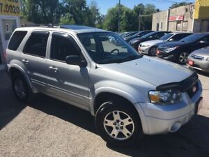 2005 Ford Escape Limited/LEATHER/ROOF/ALLOYS/