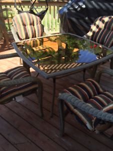 "42 1/2"" Square Patio Table"