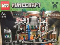 Lego Minecraft - The Mineshaft (21118) & The End sets (21117) for sale