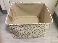 Floral Storage-Laundry basket