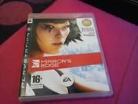 Mirror's edge PS3 game