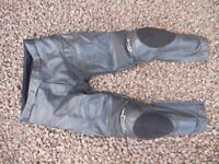 Alpinestars Leather Trousers Size Euro 52 (34½ waist)
