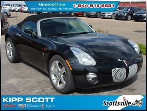2006 Pontiac Solstice Manual, Leather, Cruise, Premium Audio