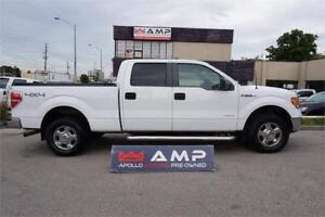 2012 Ford F-150  4x4 Ecoboost V6 Certified 100% Credit Approved.