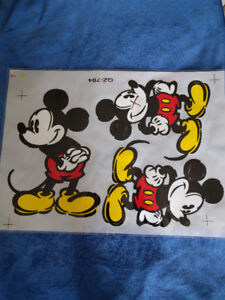 Mickey Mouse Transfers