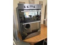 *** Hotpoint double built in oven & grill ***