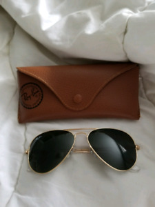 Authentic Ray bans size 55
