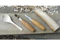 Spoons,Spurtles & Spatulas-Green wood carving weekend (30th Sep & 1st Oct)