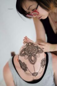 All Natural Henna (Pregnancy, Henna Crowns, Body Art, Mehndi) - Created By Connie