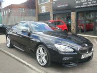 2013 BMW 640 3.0TD ( 313bhp ) Auto M Sport D 2DR 63 REG Diesel Hi Spec Black