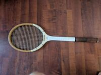 Vintage Wisden Wooden Tennis Racquet