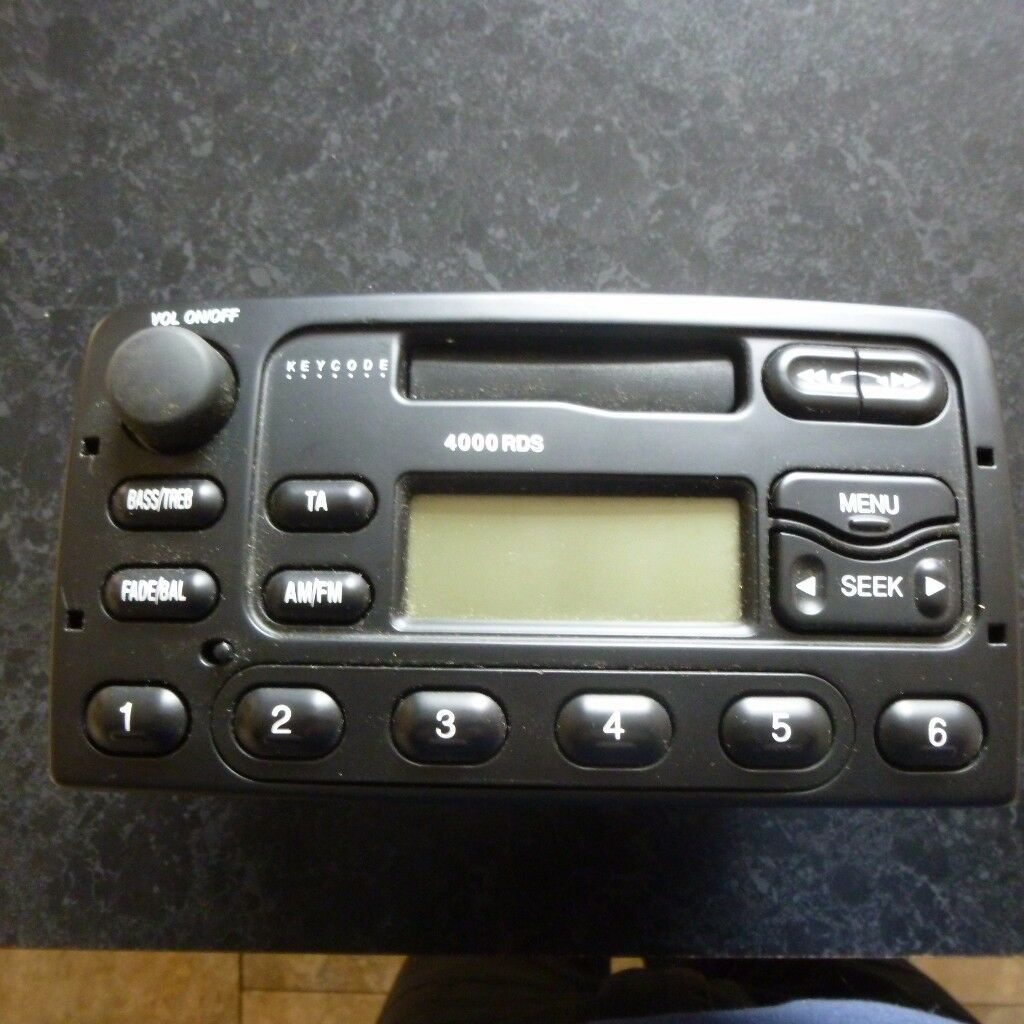 Ford 4000 rds radio cassette player focus puma fiesta cougar ford 4000 rds radio cassette player focus puma fiesta cougar publicscrutiny Choice Image