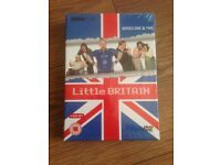 Little Britain - Series 1 And 2 (DVD, 2005, 4-Disc Set, Box Set) NEW in wrapper