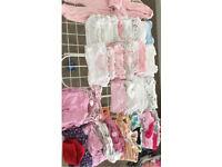 Clothes bundle tiny baby/newborn girl