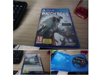 Watchdogs PS4 perfect condition