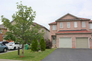 3 Bedroom Semi-Detached Home for Lease close to Lisgar GO