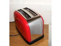 Red Russel Hobbs Toaster