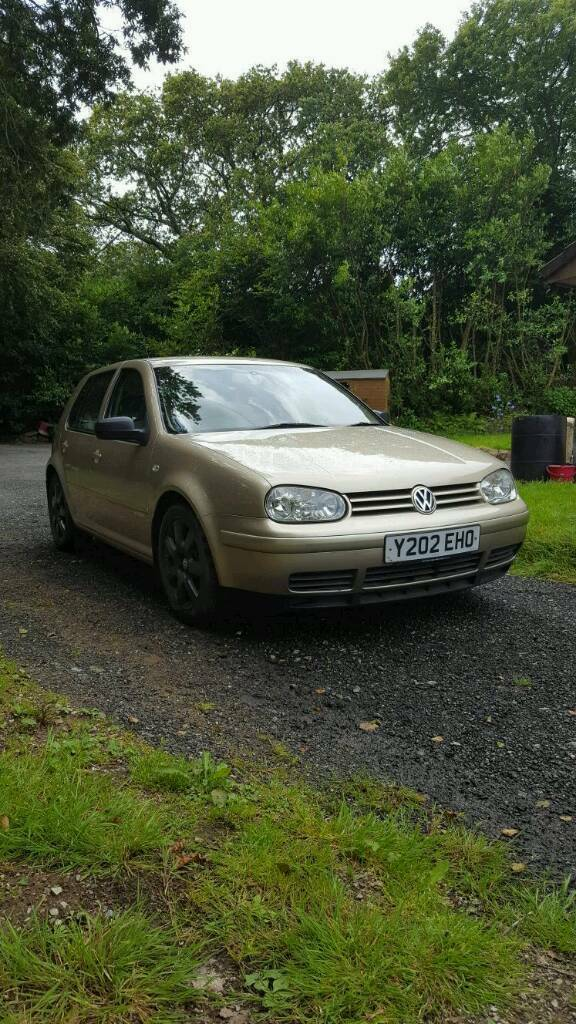 Rare VW Golf 28 V6 4Motion 4 wheel drive  in Lostwithiel