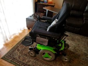 Electric Wheel Chair - Green