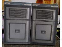 Pioneer S-313X 2-Way Flat Square Speakers