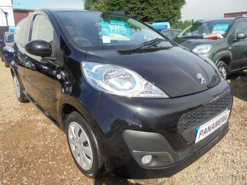 2014 14 PEUGEOT 107 1.0 ACTIVE 5DR 68 BHP NEW SHAPE FINANCE WITH NO DEPOSIT AND